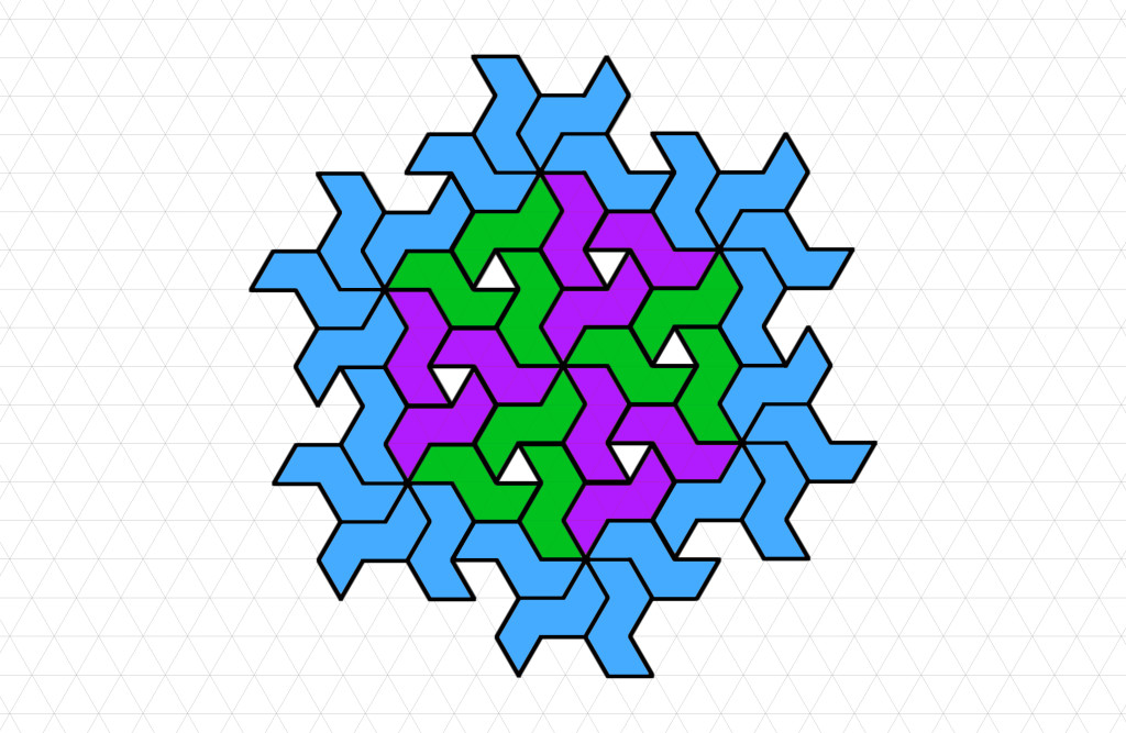 """Pinwheel Fancy-Shmancy"" Coloring Pattern"