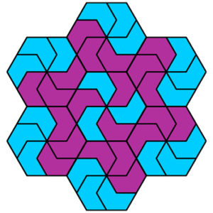 """Basic Pinwheel"" Coloring Pattern"