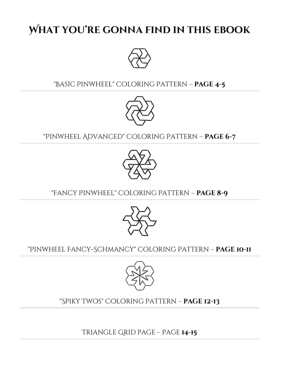 Geomegic free printable patterns ebook 1 fandeluxe Ebook collections